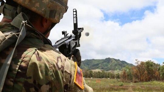 Soldiers train at Schofield Barracks, Hawaii. (Staff Sgt. Joseph Moore/Army)