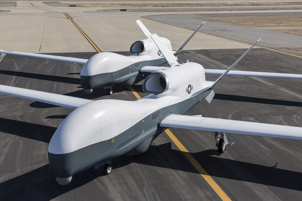 Germany has been cleared to purchase the MQ-4C Triton system, produced by Northrop Grumman. (Chad Slattery/US Navy)