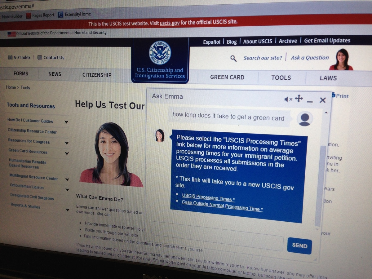 USCIS virtual assistant to offer more 'human' digital experience