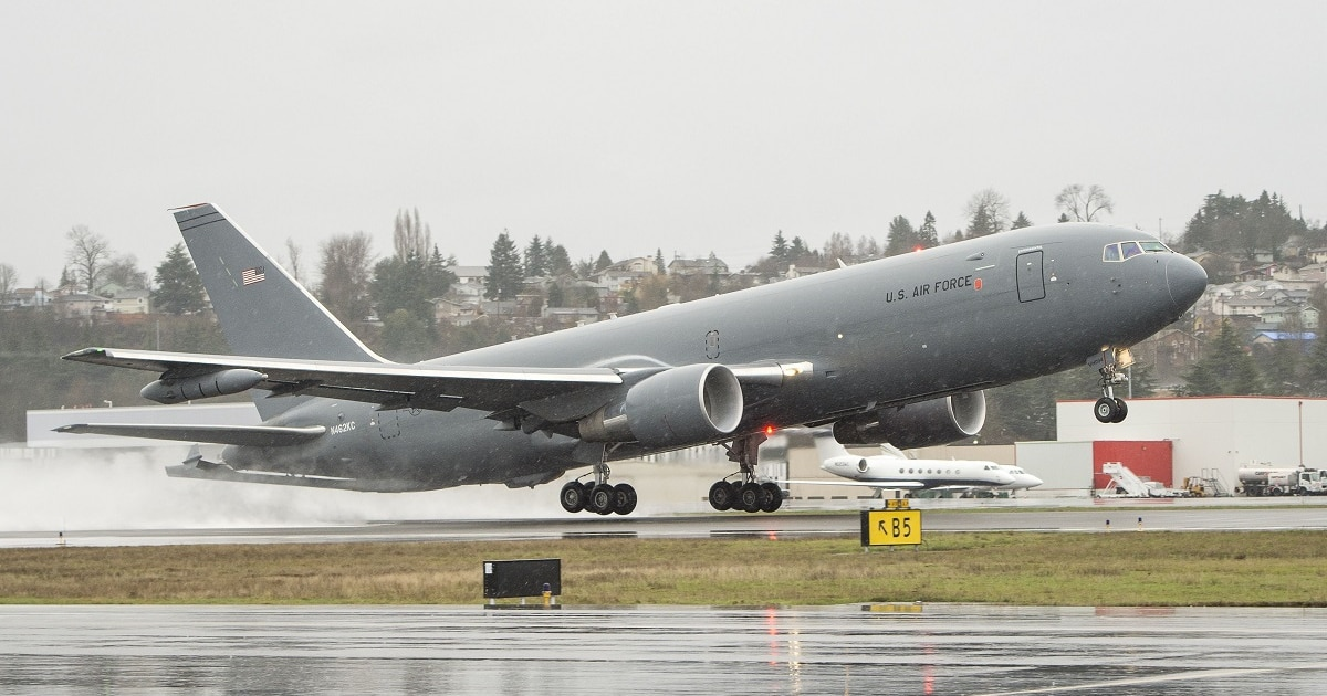 The Air Force S KC 46 Tanker Is Almost Ready For Prime Time