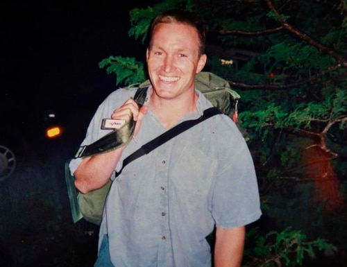 FILE - This undated file photo provided by Mark and Kate Quigley shows Glen Doherty, who died in an attack on the U.S. Consulate in Benghazi, Libya on Sept. 12, 2012. Doherty's heirs, led by his mother Barbara Doherty, filed a claim in September 2014 seeking damages from two government agencies, alleging inadequate security at the U.S. diplomatic post and nearby CIA compound in Benghazi. (AP Photo/Quigley Family, File)