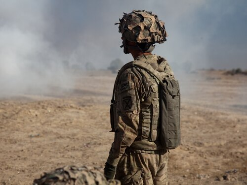 Several organizations have come together to fight toxic exposure in the military. (Spc. Kristina Truluck/Army)
