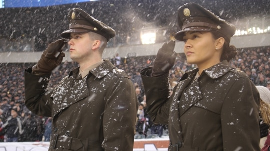 The Army announced on Veterans Day that it will adopt a throwback service uniform as early as 2020. (Ron Lee/Army)