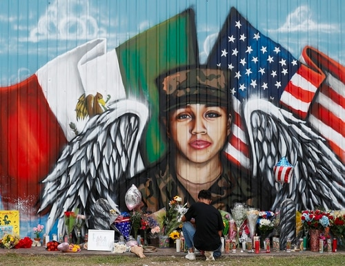 Slain soldier Spc. Vanessa Guillen's family has said she didn't report sexual harassment because she believed her leadership would ignore it. An independent Pentagon commission has recommended that such cases be investigated outside the chain of command. (Godofredo A. Vásquez/Houston Chronicle via AP)