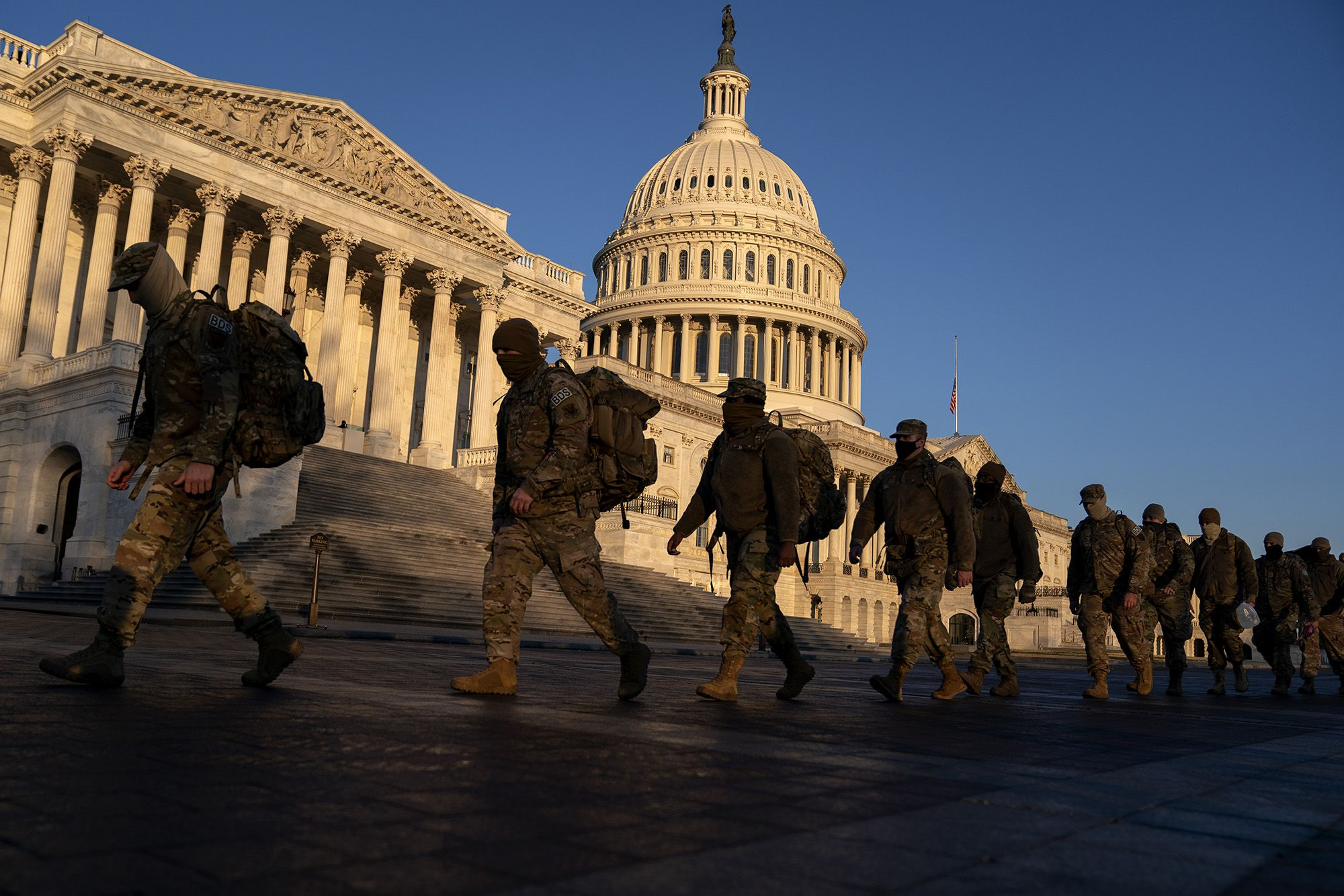 Why the DC National Guard's role was limited during US Capitol riot