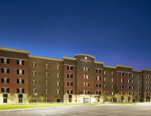 Army IHG Hotels, like this Candlewood Suites at Fort Jackson, S.C., are lowering their room rates for service members and families who need to stay longer because they're having trouble finding housing. (Courtesy IHG Army Hotels)
