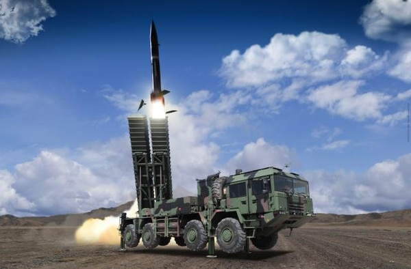 The Bora-1, which is expected to get an upgrade to Bora-2, is made by Roketsan, Turkey's national missile manufacturer. (Roketsan)