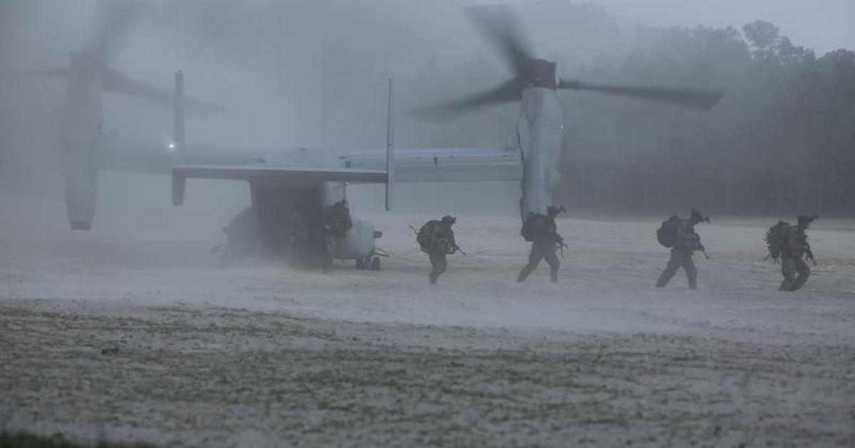 Pentagon ID's Marine Raider killed in Iraq