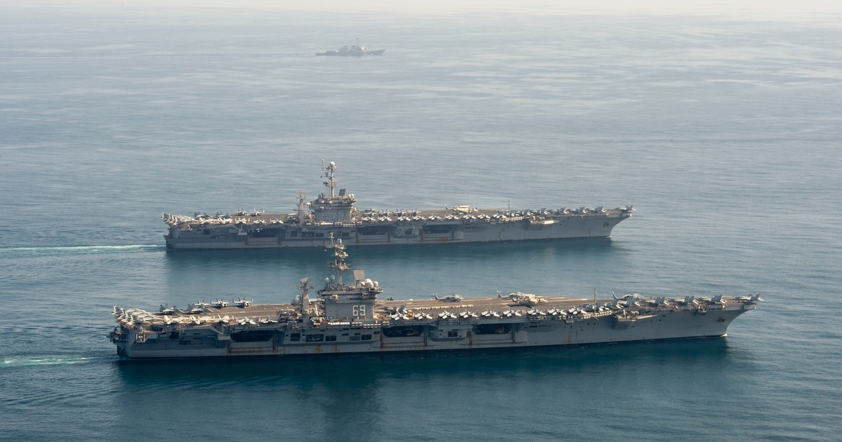 With Iran tensions high, CENTCOM pushes a dubious carrier strategy