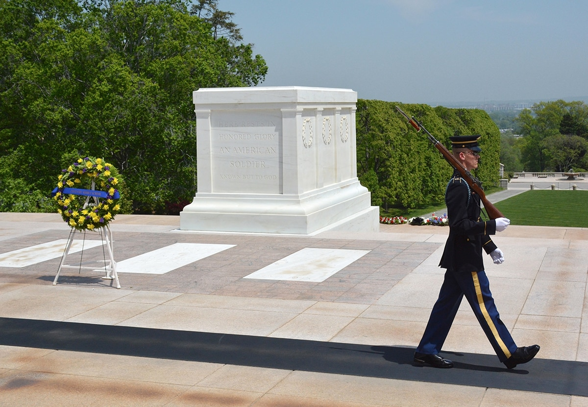 tomb of the unknown soldier - photo #21
