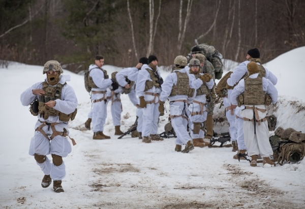 A recent symposium on cold weather and mountain warfare training at Fort Drum, New York brings U.S. and foreign units with expertise together to collaborate and improve training, gear and preparation for a cold weather fight. (Army)