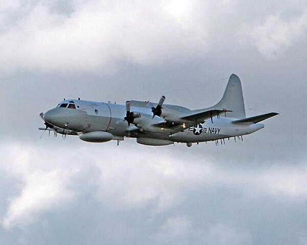An EP-3 surveillance plane. (Navy)