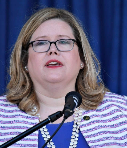 General Services Administration Administrator Emily Murphy made transition funds available to the Biden transition team after weeks of holding back. (Susan Walsh/AP)