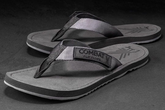 Combat Flip Flops introduces their new Stealth Floperator: a grey flip flop built for hard use.