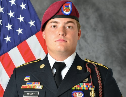 Sgt. Bryan 'Cooper' Mount died in Syria on July 21, 2020. (Army)