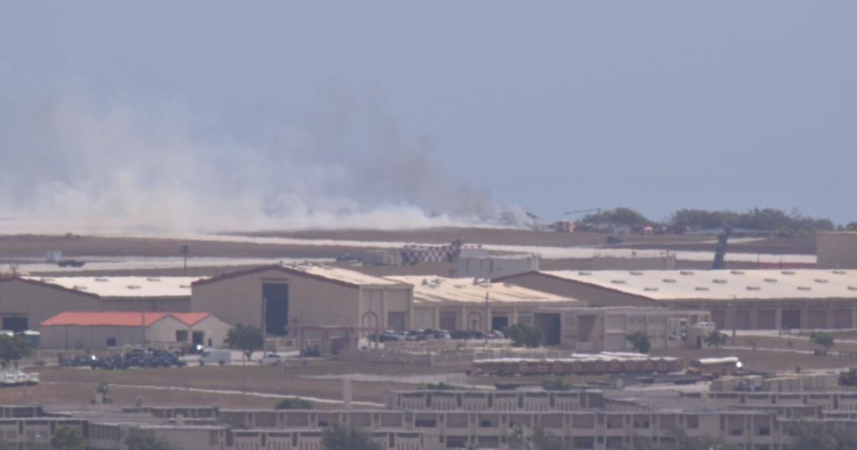 US Air Force B-52 Crashes at Andersen Guam Base https