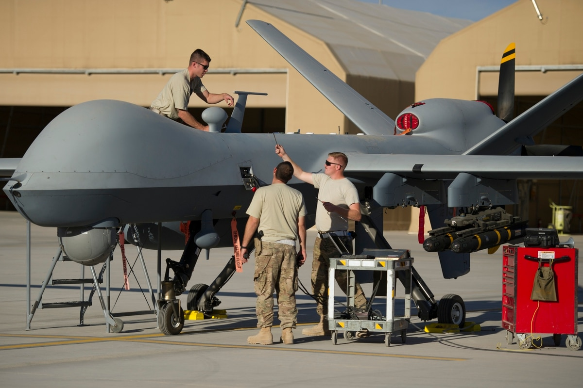 US Air Force's next drone to be driven by data
