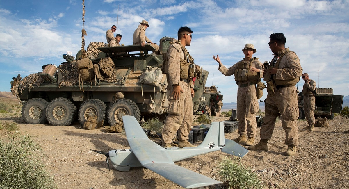 To fight drone swarms, the Corps wants a battle drone that