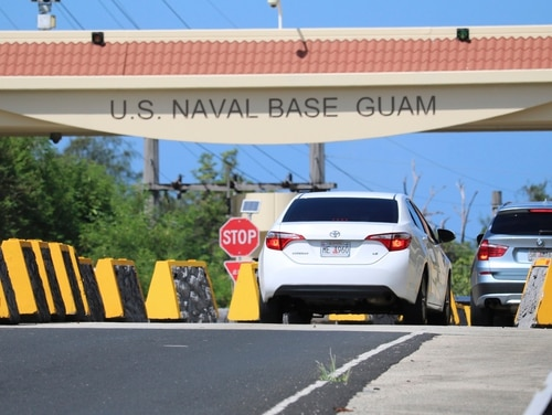 Security and defense officials on Guam said Aug. 9, 2017, that there is no imminent threat to people there or in the Northern Mariana Islands after North Korea said it was examining its operational plans for attack. (Haven Daley/AP)
