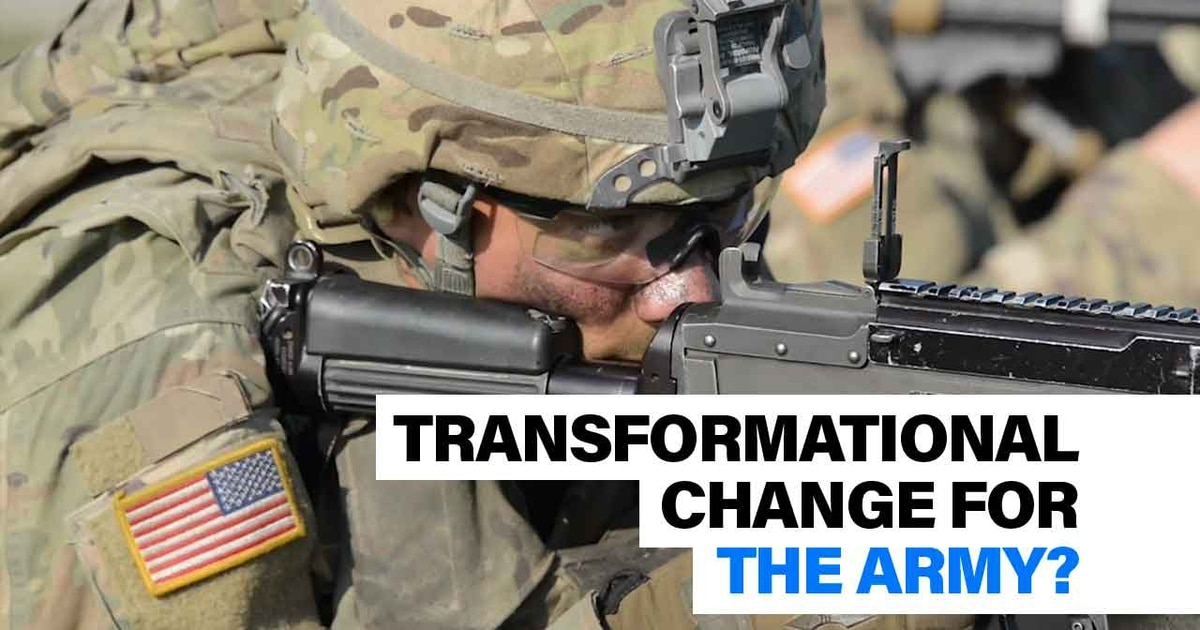 Can the Army achieve 'transformational change'? | Defense News Weekly full episode, Jan. 24, 2020
