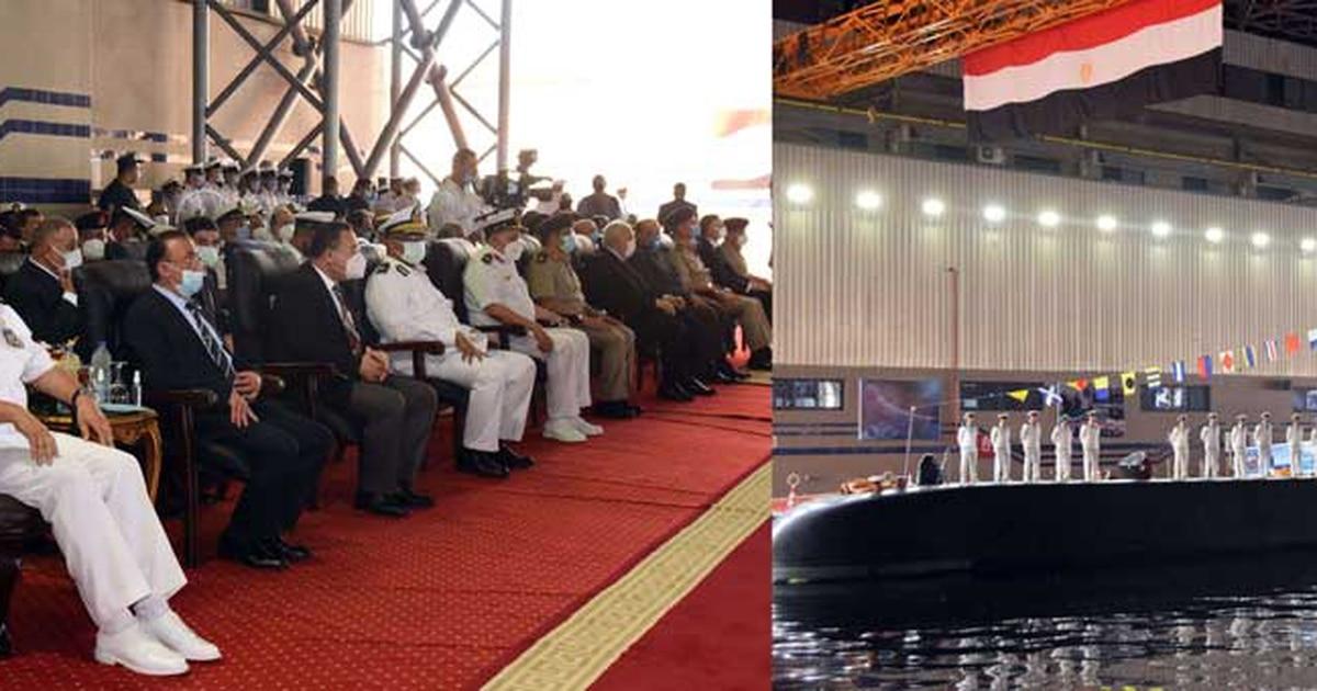 Egypt receives fourth German S-44 submarine at Alexandria base