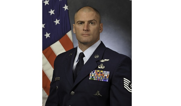 Master Sgt. William Posch, who was a technical sergeant when this photo was taken, was one of seven airmen killed March 15 when an HH-60 Pave Hawk crashed in western Iraq. (Air Force)