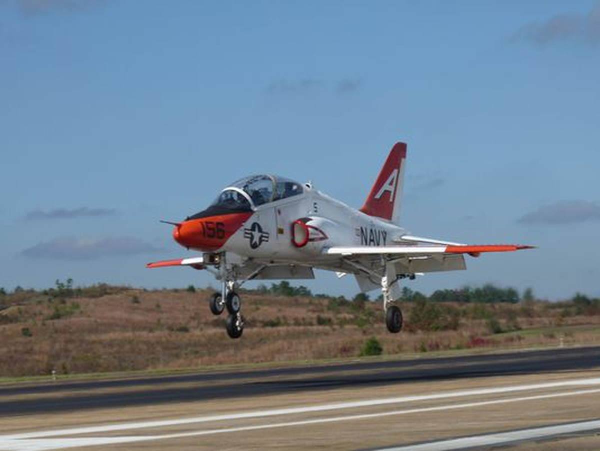T-45 crash injures 2 at Meridian Naval Air Station