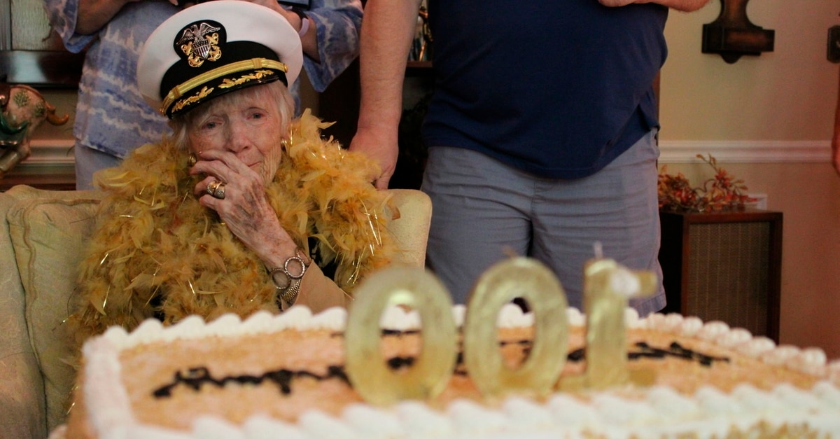 Awesome The Widow Of A World War Ii Navy Hero Turns 100 Personalised Birthday Cards Arneslily Jamesorg