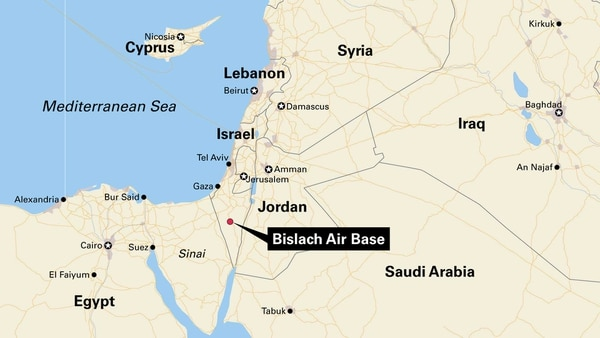 Us Breaks Ground For New Permanent Base In Israel - Map-of-us-air-bases