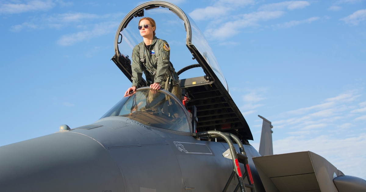 Captain Marvel Pays Tribute To Air Force History And A Fallen