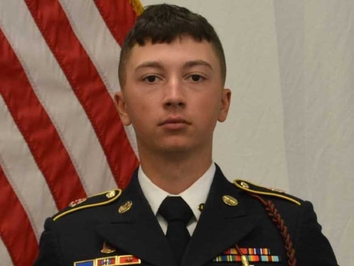 Spc. Ryan Dennis Orin Riley, 22, from Richmond, Kentucky, died Saturday, April 20, 2019 in Nineveh province, Iraq, from a non-combat related incident, the Defense Department announced Sunday.