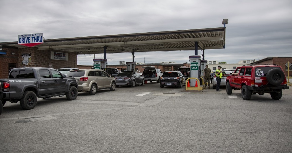 Some military bases limiting gas purchases, encouraging telework in wake of pipeline shutdown