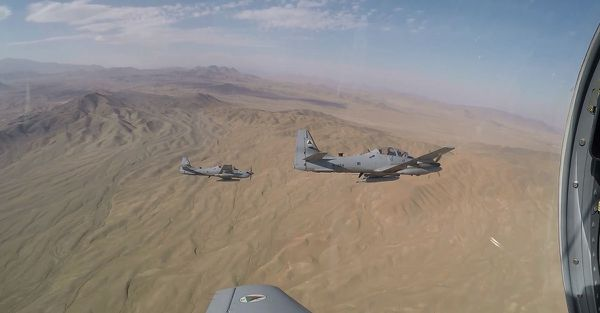 The Afghan Air Force may be one of the few success stories