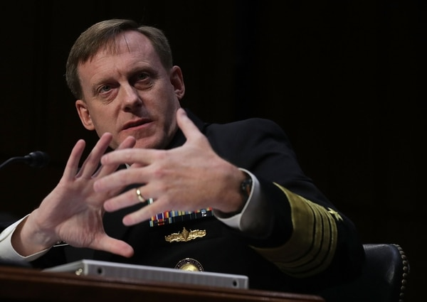 Adm. Michael Rogers, Commander of Cyber Command, testified that one of the biggest areas the command has made progress is the integration of cyber effects with traditional military operations. (Photo by Alex Wong/Getty Images)