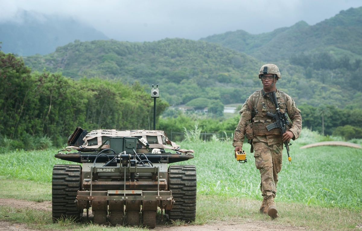 The Army Is Working On Combat Deployable Robots