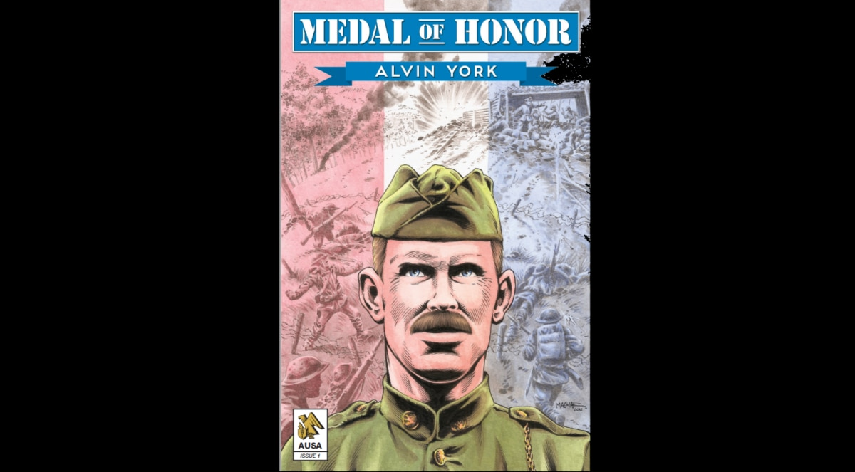 Learn about WWI hero Alvin York by downloading AUSA's first