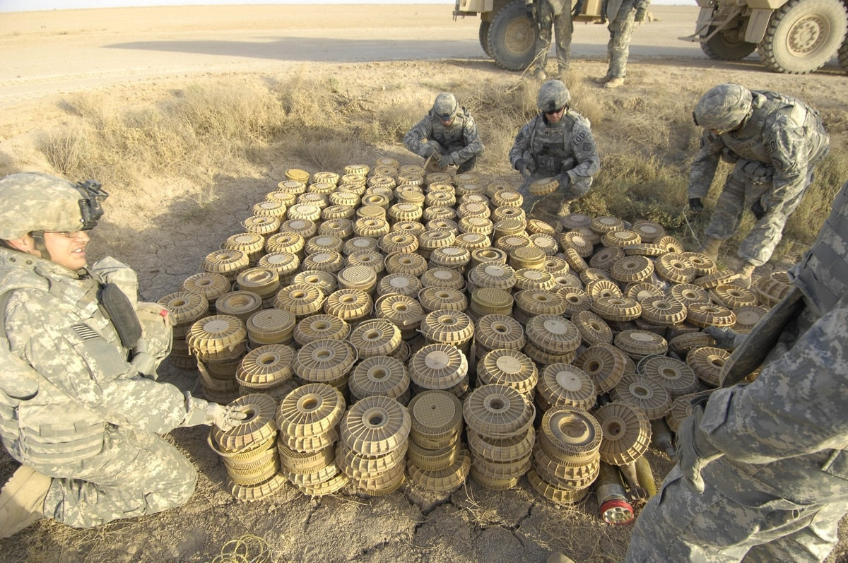 Army researchers building 'smart' land mines for future combat