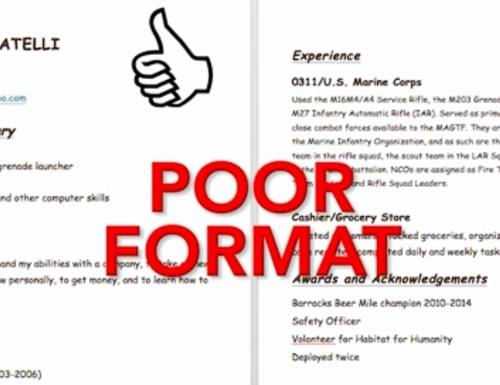 Tips for how to avoid common resume mistakes.