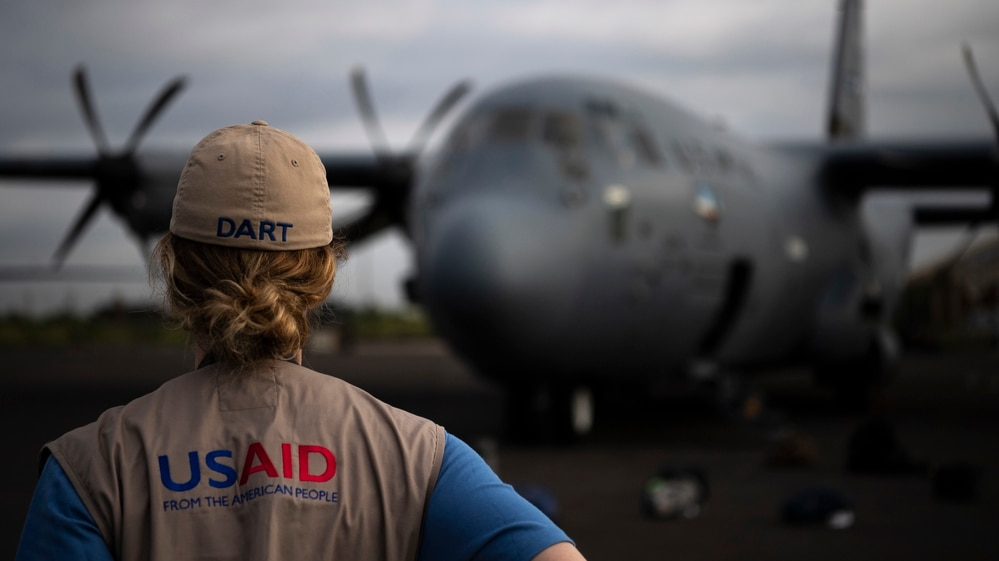 best authentic 4a713 f35df Hub and spokes US pumps aid into Mozambique following massive cyclone