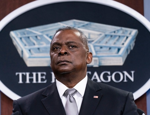 Secretary of Defense Lloyd Austin is one of only three announced Pentagon nominees for the Biden administration so far. (Alex Brandon/AP)