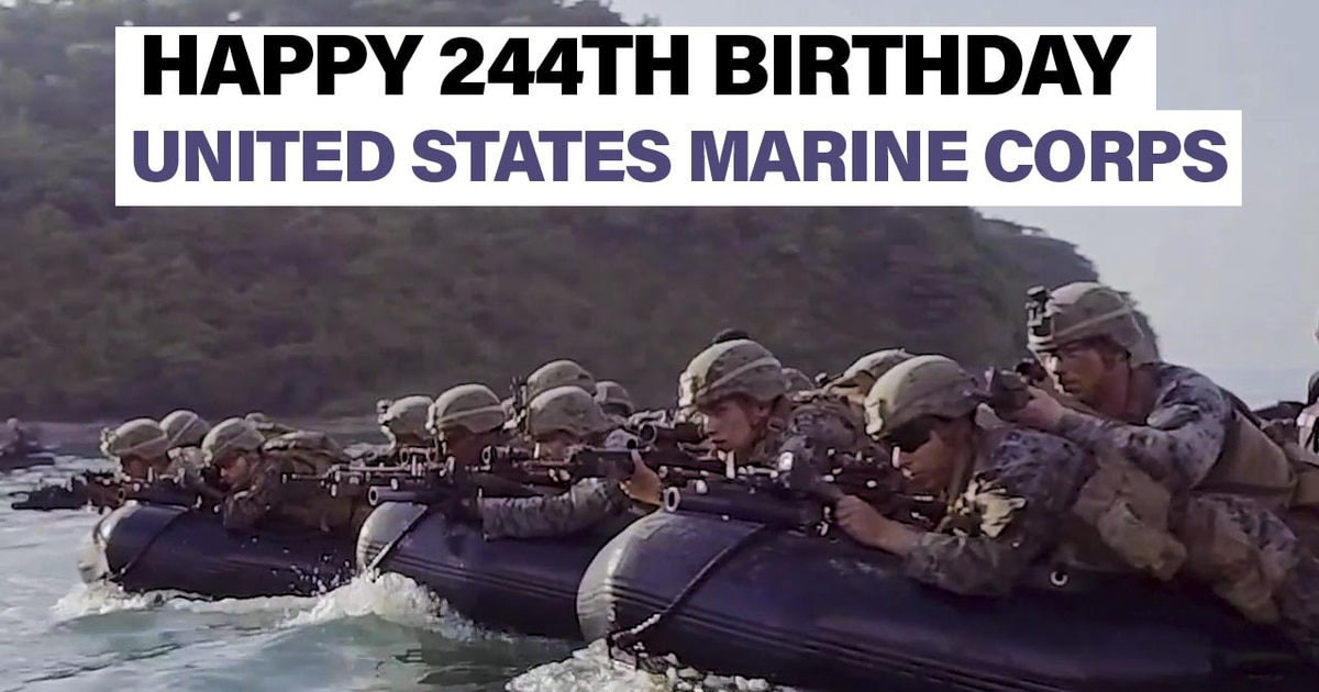 Happy 244th Birthday United States Marine Corps