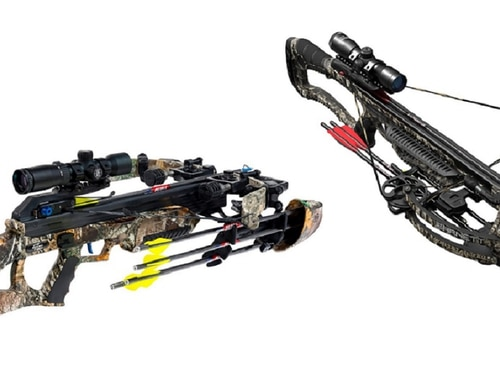 Crossbows, gun cases, sights and more ... find out the best among new outdoor offerings. (Manufacturer photos)