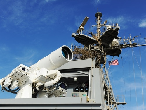Marine Corps Commandant Gen. Robert Neller told a congressional committee that U.S. forces are seeing a surge in laser use off the coast of Yemen. The amphibious transport dock Ponce is equipped with such technology, seen here. (Navy)
