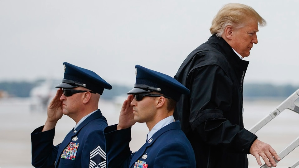 Support for Trump is fading among active-duty troops, new