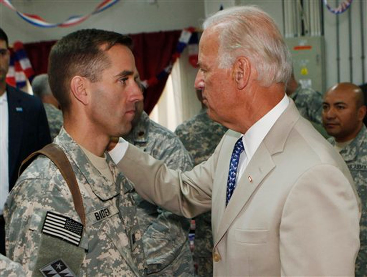 Former VP Joe Biden says military burn pits may have led to his son's death  from cancer