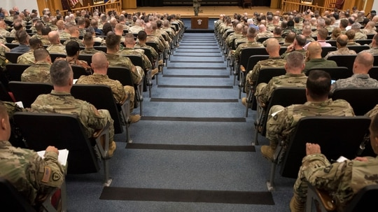 Controversy over an Army War College speaker this summer has returned this winter. (DOD)