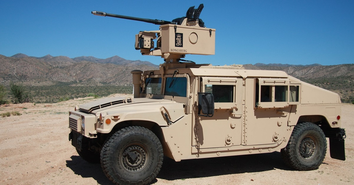 Man arrested for stealing Humvee just wanted to join the Army