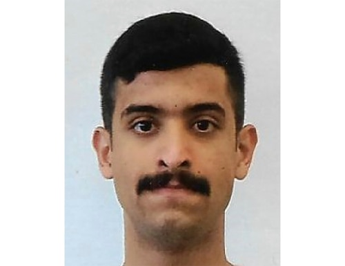 The Saudi student opened fire inside a classroom at Naval Air Station Pensacola on Friday before one of the deputies killed him. (FBI)