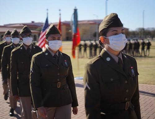 The 434th Field Artillery Brigade Class 64-20, Alpha Battery, 1st Battalion, 79th Field Artillery Regiment, became the first graduating class nationwide to wear the