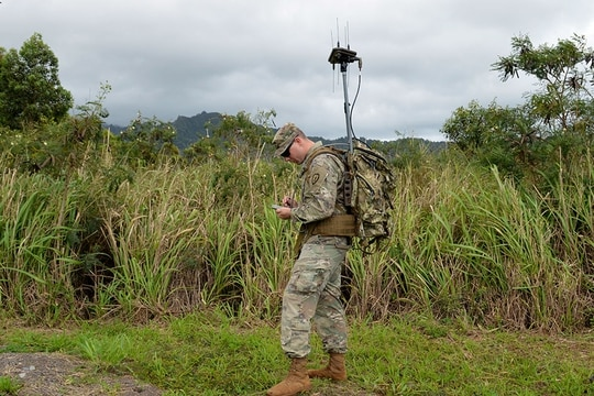 In a new request for information, the Army is looking for additional capability for its EWPMT system. (U.S. Army photo by Staff Sgt. Armando R. Limon, 3rd Brigade Combat Team, 25th Infantry Division)